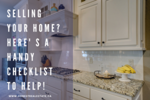 Pre Listing Checklist for Homeowners