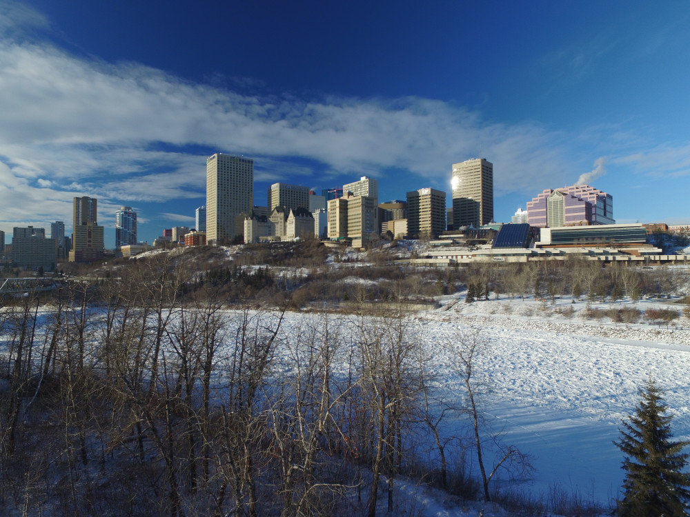 city of edmonton river valley